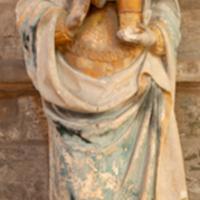 ref: PM_094508_F_Les_Andelys; Sainte-Madeleine, pierre sculpté, polychromé, XVIe S