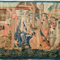 ref: PM_094502_F_Saint_Bertrand_de_Comminges; tapisserie d'origine flamande, commandé par Jean de Mauléon, évêque de 1523 à 1551